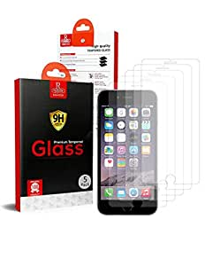 Apple iPhone 7 Plus Remson Tempered Glass Screen Protector 5 PACK - Clear