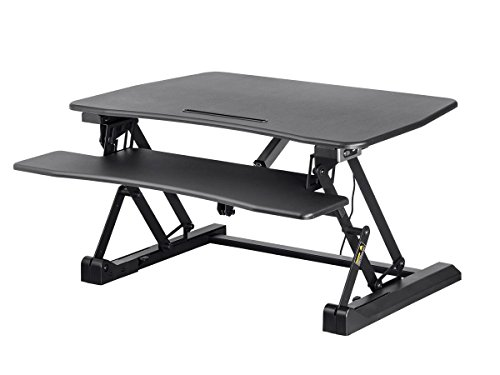 electric adjustable sit stand riser