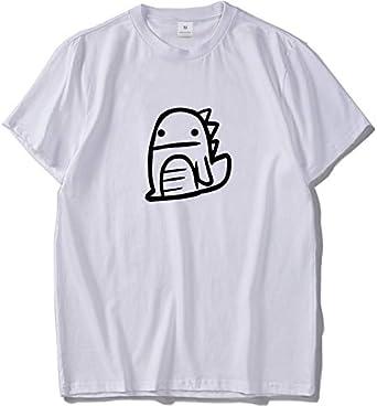 ADS11 - Camisa de Dinosaurio con diseño Original para Verano Negro Negro (50: Amazon.es: Ropa y accesorios