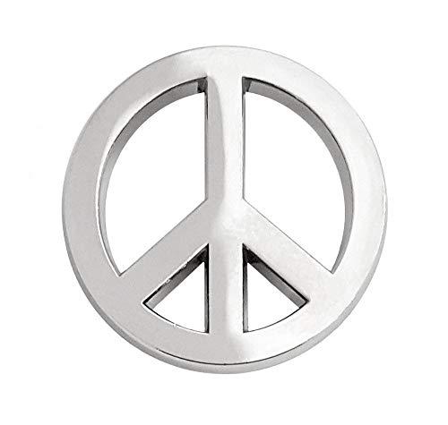 Pinsanity Peace Symbol Lapel Pin