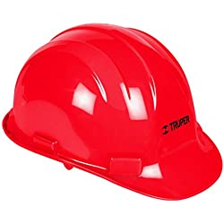Truper CAS-R, Casco de Seguridad, Color Rojo