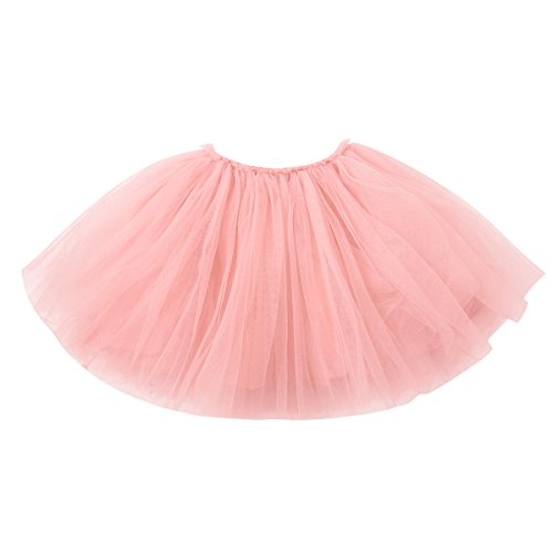 Iridescent Winter Costumes (Baby Girl Skirt Toddler Kids Girl Dance Tutu Skirt for Dress Up & Fairy Costumes)