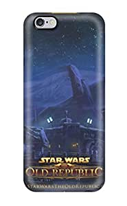 New Arrival Cover Case With Nice Design For Iphone 6 Plus- Star Wars The Old Republic Planets