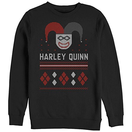Batman Harley Quinn Ugly Christmas Sweatshirt
