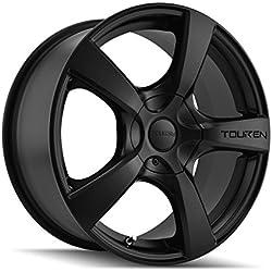"Touren TR9 3190 Matte Black Wheel (18x8""/10x114.3mm)"