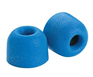 Comply Foam Premium Earphone Tips - Isolation T-500 (Blue, 3 Pairs, Large)