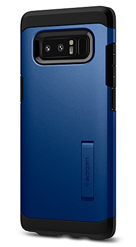 Spigen Tough Armor Galaxy Note 8 Case with Kickstand and Extreme Heavy Duty Protection and Air Cushion Technology for Galaxy Note 8 (2017) - Deep Sea Blue