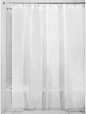 Amazon InterDesign Mildew Free EVA 55 Gauge Shower Liner X Wide 108 72 Frost Home Kitchen