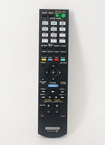 Replacement Remote Control for Sony STR-DH550 STR-DH540B STR-DH740 STR-DH750 AV System Receiver