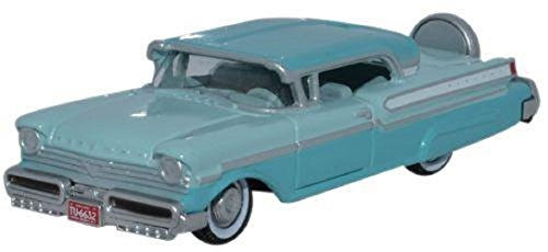 Oxford Diecast 1957 Mercury Turnpike Tahitian Green_Spring Valley Green 1:87 HO - Oxford Valley