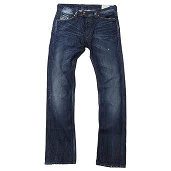 98c4066a Brand New Diesel Viker-R-Box 8SS Mens Jeans, 008SS, Regular Fit Straight  Leg (29 x 34): Amazon.co.uk: Clothing