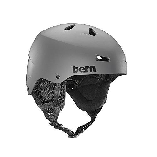 Macon Helmet Matte - Bern Macon MIPS Helmet 2019 - Medium/Matte Grey