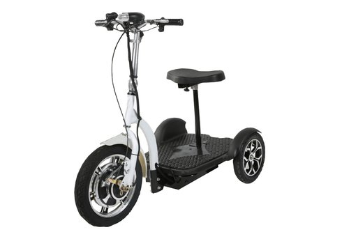 Electric Three Wheel SCOOTER. Battery Powered Euro Style Scooter. USA Designed. Mobility Device and FUN Ride for ALL AGES. By Euro Ride. by SCOOTER by EURO RIDE