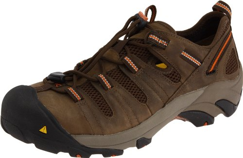 KEEN Utility Men's Atlanta Cool Steel Toe Work Shoe,Shitake,10.5 D  US ()