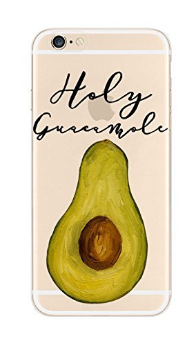 iPhone 5 / 5s / se Compatible, Colorful Glossy Hard iPhone Cover Case - Holy Guava-mole Fruit Pear Lover (Iphone 6 Diet Coke Case)