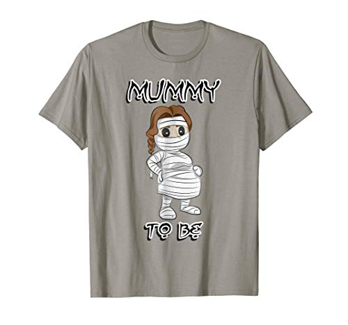Mummy To Be Funny Halloween Novelty T-Shirt Gift for -