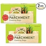 PaperChef 05003 PC5003 ((2 Pack) Parchment Paper Nonstick Cooking Bags, 10-ct/Box, 1483, Tan