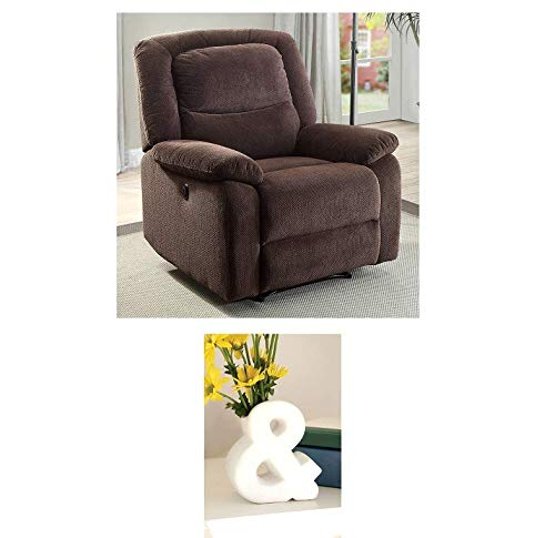 Push-Button Recliner Chair