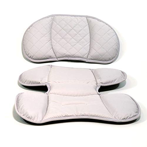 Replacement Infant Pads for Chicco Keyfit or Keyfit 30 Magic Car Seat – Fire Fashion – Includes 1 Head and Body Insert Pad