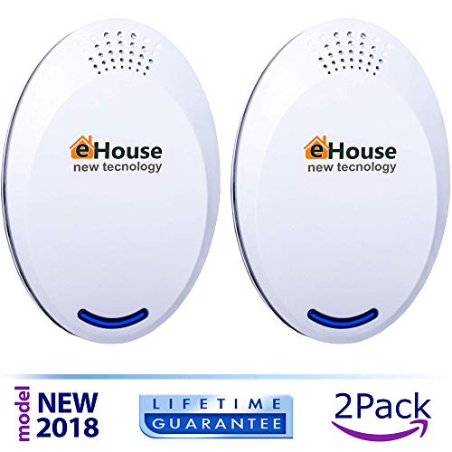 Ultrasonic Pest Repeller Electronic Repellent Best Plug In   Get Rid Of   Rodents  Squirrels  Mice  Rats  Insects   Roaches  Spiders  Fleas  Bed Bugs  Flies  Ants  Mosquitos  Fruit Fly  Pest Control
