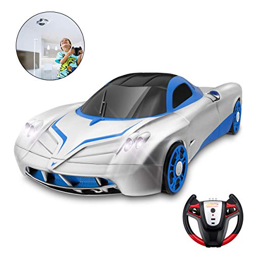 Remote Control Car, Kid Toys for Boys Girls, Dual Mode 360°Rotating Stunt Car with Remote Control, Head and Rear LED Lights, Intelligent Glowing USB Cable, Girl and Boy Gifts (Remote Control Cars Toy)