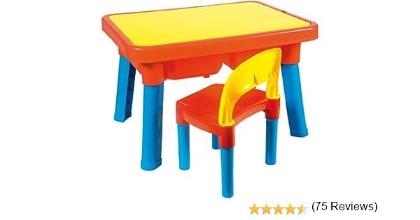 Androni Giocattoli 8901-0000 - Mesa de actividades infantil con silla (sin acceso): Amazon.es: Bebé