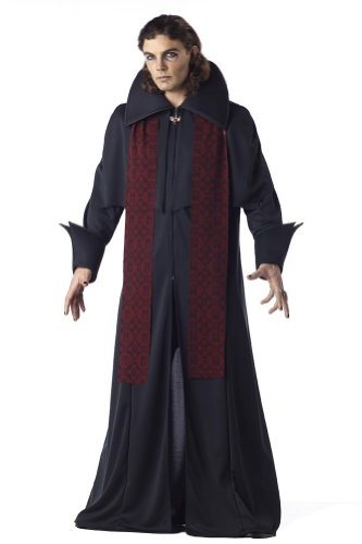 California Costume Sinister Minister 00745 (AS - Librarian Male Costume