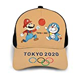 Lhdesign Unisex Mario_Doraemon Tokyo 2020 A