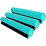 Super Absorbent PVA Roller Sponge Mop Head Refill - Set of 3
