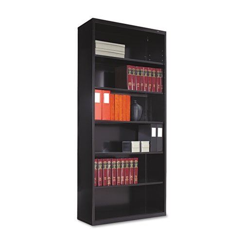 TNNB78BK - Tennsco Metal Bookcase Tennsco Steel Bookcases