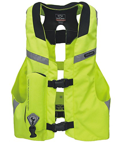 Hit Air MLV-YC Light Weight Airbag Vest High Visibility (XL-3XL) ()