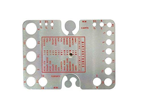 SE JT22DG GEM Stone Gauge Measuring Tool Millimeter & Carats
