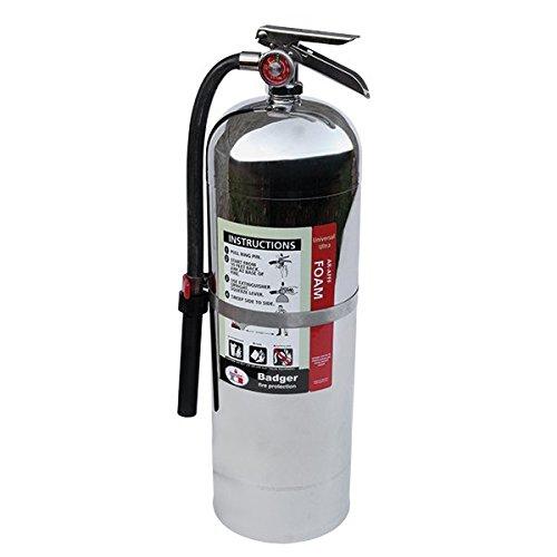 Badger Ultra Foam 2.5 gal AR-AFFF Extinguisher 23697 Fire Safety Detection Afff Foam Fire Extinguisher