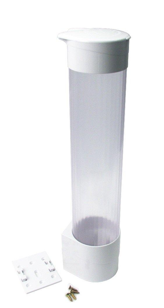 Oasis 032898-010 Cup Dispenser, Flat Bracket, White