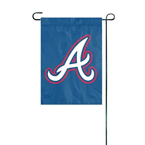 MLB Atlanta Braves Sports Team Logo Garden/Window Flag 15