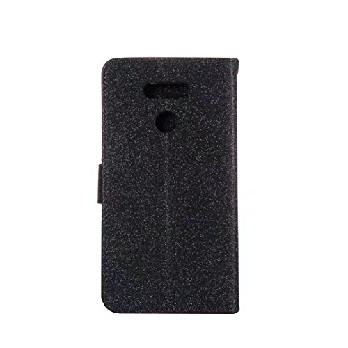 COWX LG G6 Hülle Kunstleder Tasche Flip im Bookstyle Klapphülle mit Weiche Silikon Handyhalter PU Lederhülle für LG G6 Tasche Brieftasche Schutzhülle für LG G6 schutzhülle dwHxP