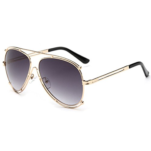 Sinkfish SG80030 Sunglasses for Women,Anti-UV & Fashion Oval Reflector - UV400 (Dimgray) (Hat Prada Designer)