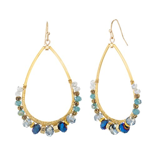 Lucite Beaded Earrings - 8
