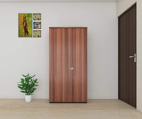 Bharat Lifestyle Atlanta Engineered Wood 2 Door Wardrobe
