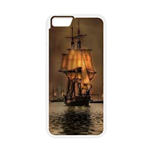 Best Quality [LILYALEX PHONE CASE] Tall ship & Sailing Vessel For Apple Iphone 6 Plus 5.5 inch screenCASE-13