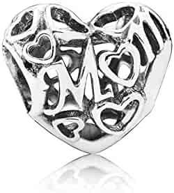 Pandora Women's 791519 Motherly Love Charm, Silver