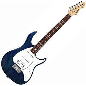 new peavey raptor plus transparent blue electric guitar w tremolo musical instruments. Black Bedroom Furniture Sets. Home Design Ideas