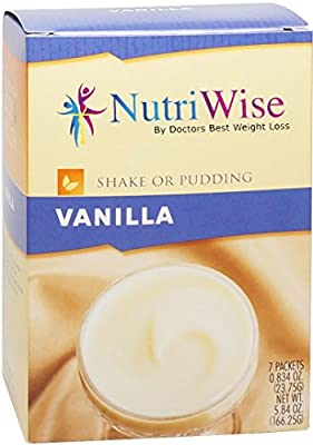NutriWise - Vanilla Protein Diet Shake/Pudding (7/Box)