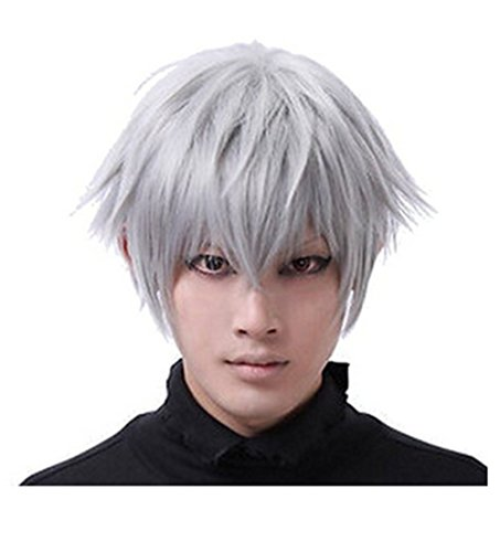 Anti alice Layered Cosplay Costume silver