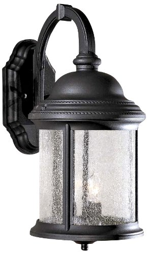 Minka Lavery Outdoor Wall Light 9011-66 Hancock Cast Aluminum Exterior Wall Lantern, 180 Watts, ()