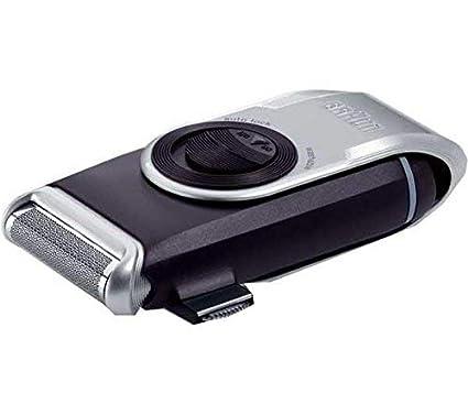 Braun MobileShave M-90 - Afeitadora eléctrica rotativa para hombre ... 150fbd04ccb8
