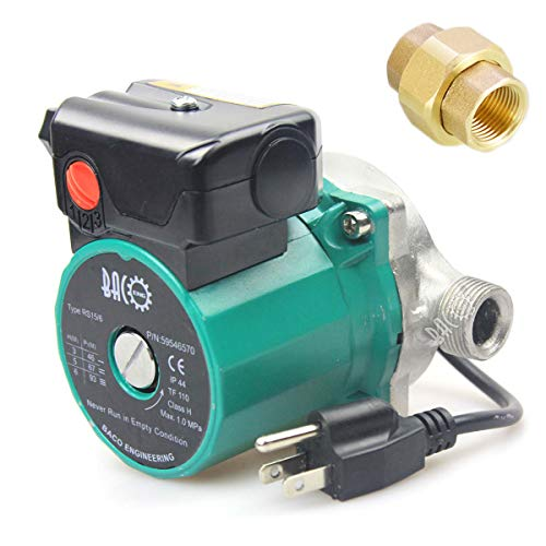 Hot Water Circulation Pump - BACOENG 3/4