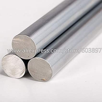 Length: 375 Ochoos 4pcs 3D Printer Parts CNC Diameter 6mm Chromed Steel Smooth Shaft Rod Optical Axis Multiple Length Option 370//375//400