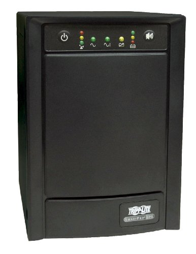 SLT 1500VA 900W UPS Smart Tower AVR 120V USB DB9 SNMP for Servers, 8 Outlets ()
