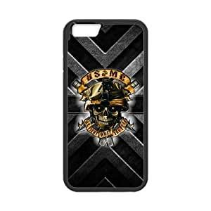 """Cool Personalized US Marine Corps Hard TPU Rubber iPhone 6 (4.7"""" Inch) Case Cover"""